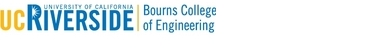 University of California, Riverside and Bourns College of Engineering logo
