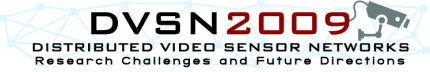 Distributed Video Sensor Networks 2009 logo
